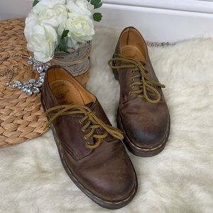 Dr. Martens Brown Lace Up Oxfords UK 4 or US 6